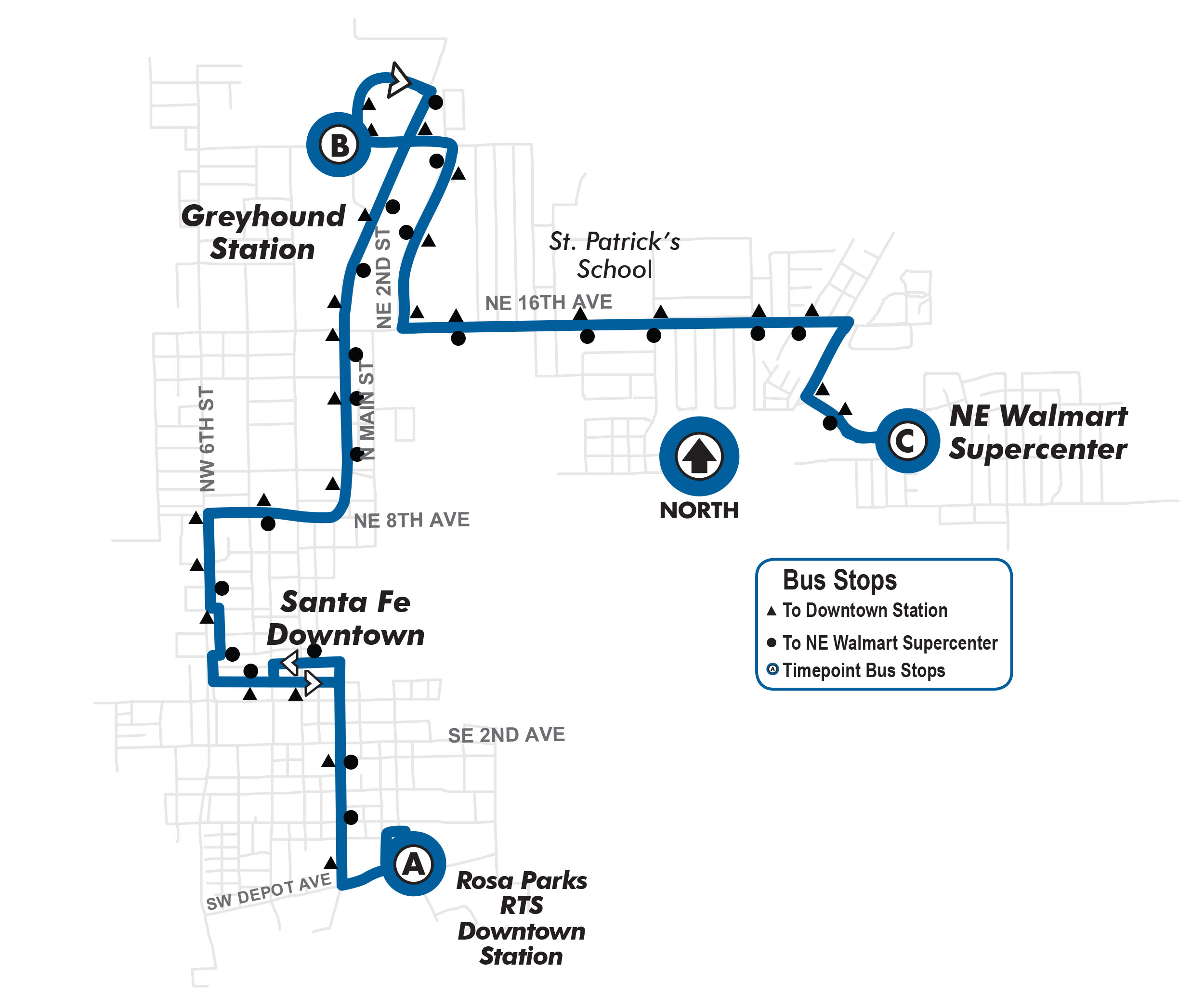 fall route rosa parks rts downtown station to ne walmart fall route27 rosa parks rts downtown station to ne walmart supercenter go rts